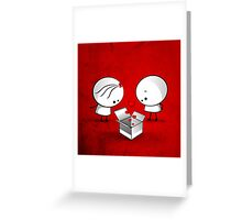The valentine gift Greeting Card