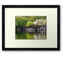 Across A Donegal Lake Framed Print