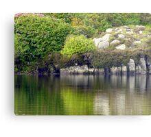 Across A Donegal Lake Metal Print