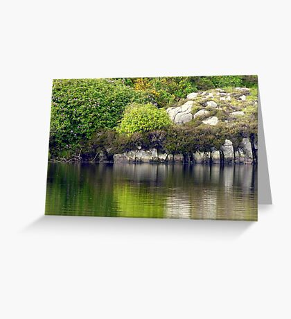 Across A Donegal Lake Greeting Card