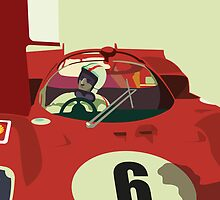 FERRARI 1970 by bbayol