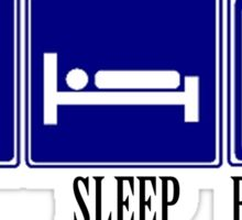 Eat, Sleep, Billiards Sticker