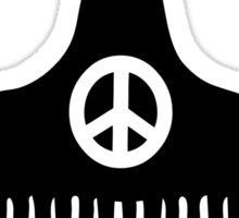 Afro Hair Peace Sticker
