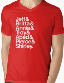 Community Lineup Mens V-Neck T-Shirt
