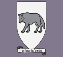 House Stark Tee by Gqualizza
