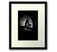 A Wrong Turn Framed Print