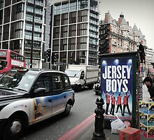 London - Jersey Boys. by Jean-Luc Rollier