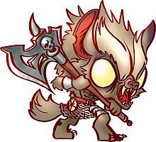 Chibi Gnoll by Figment Forms
