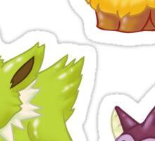 Eeveelution Shinies - Set 1 Sticker