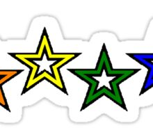 Rainbow Stars Sticker