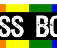 I Kiss Boys Sticker