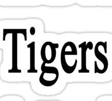 I Will Defend Tigers No Matter What Sticker