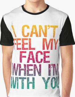 The Weeknd 'Can't Feel My Face' Graphic T-Shirt
