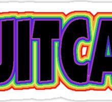 Fruitcake Sticker