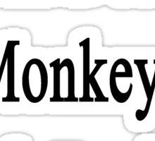 I Will Defend Monkeys No Matter What Sticker