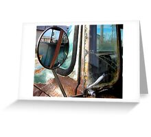 Rusty Truck Clarksdale Tennessee Greeting Card