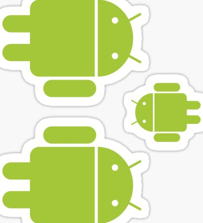 Android Robot - Multiple Sticker
