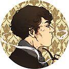 Smoking Holmes by sweetlitlekitty