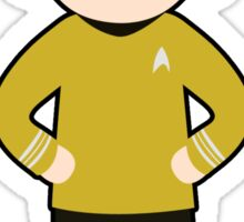 Captain James T. Kirk Sticker