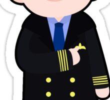 Captain Martin Crieff Sticker
