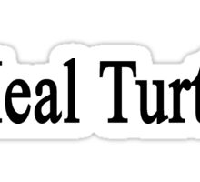 I Heal Turtles  Sticker