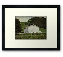Time to cut the grass Framed Print