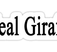 I Heal Giraffes  Sticker