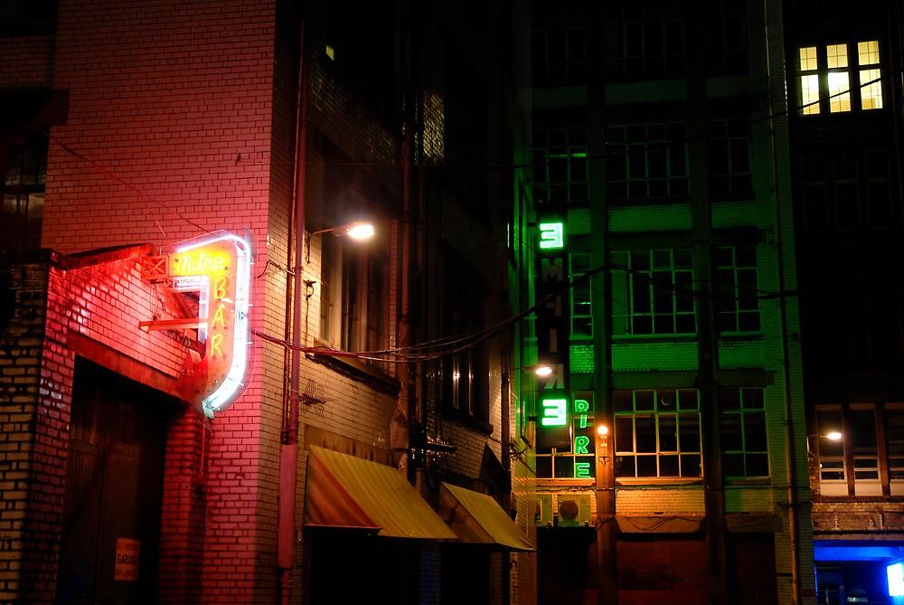 Neon Alley by GreyCard