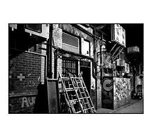 Mono Alley Photographic Print