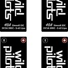 Wild Pilots 40A ESC Decals by spackletoe