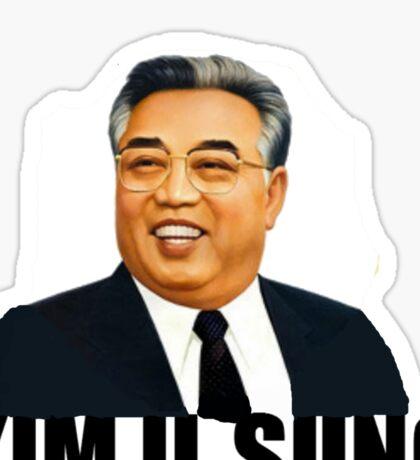Kim Il Sung Sticker