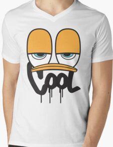 Mr. COOL Mens V-Neck T-Shirt