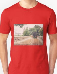 Rainy On Bow Bridge T-Shirt