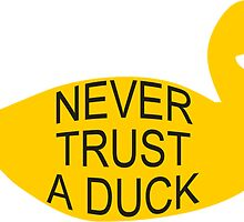 Never Trust A Duck by bethscherm
