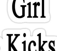 I'm That Cute Girl Who Kicks Ass At Soccer Sticker