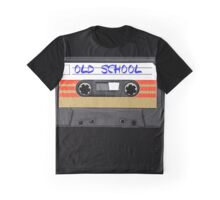 Funny old school music band logo Graphic T-Shirt