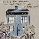 Doctor Who Breakfast by CharlieeJ