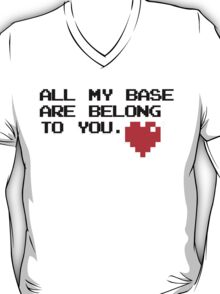All My Base (Black) T-Shirt