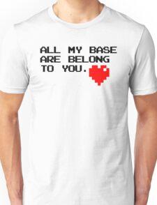 All My Base (Black) Unisex T-Shirt