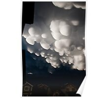 Mammoth Mammatus Over Colorado Poster