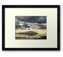Memorial JK Framed Print