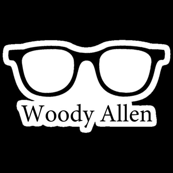Woody Allen Minimalist Design by kmorris-b