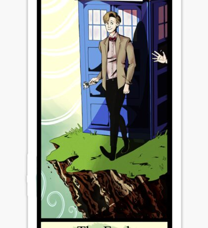 Eleventh Doctor- The Fool Sticker
