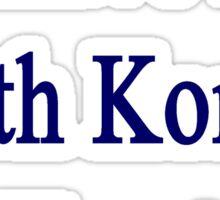 I Have A South Korean Heart Sticker