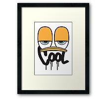 Mr. COOL Framed Print