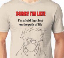 Kakashi Sensei Unisex T-Shirt