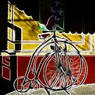Old-Time Bicycle by Karen Checca