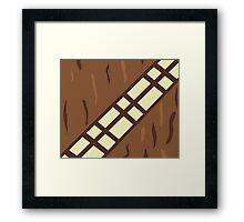 Wookie Belt Framed Print