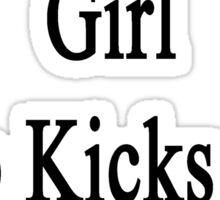 I'm That Cute Girl Who Kicks Ass At Cycling  Sticker