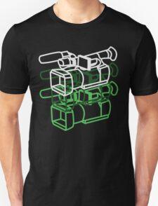 Video Camera (Green) T-Shirt
